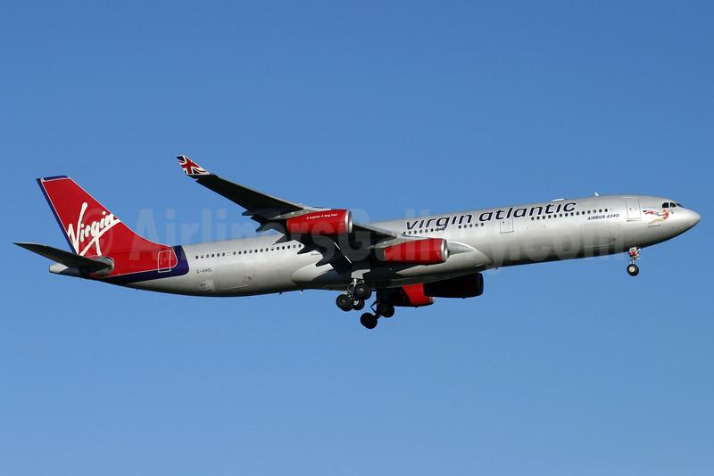 Virgin Atlantic Airways Airbus A340-311 G-VHOL (msn 002) LHR (Antony J. Best). Image: 903774.