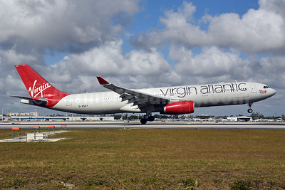 Virgin Atlantic Airways Airbus A330-343 G-VSXY (msn 1195) MIA (Bruce Drum). Image: 104583.