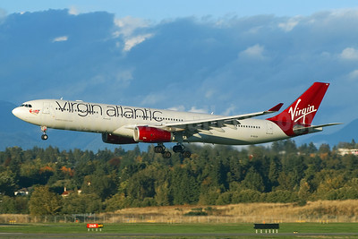 Virgin Atlantic Airways Airbus A330-343 G-VLUV (msn 1206) YVR (Rob Rindt). Image: 941042.