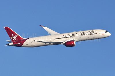 Virgin Atlantic Airways Boeing 787-9 Dreamliner G-VFAN (msn 37977) LHR (Robbie Shaw). Image: 955534.