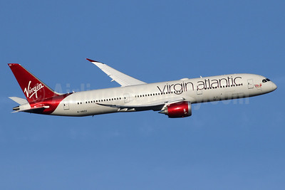 Virgin Atlantic Airways Boeing 787-9 Dreamliner G-VBZZ (msn 37976) LHR (SPA). Image: 936151.