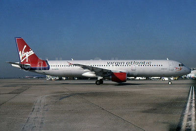 """Hellenic Beauty"", Virgin's lone A321, leased from GECAS on May 12, 2000"