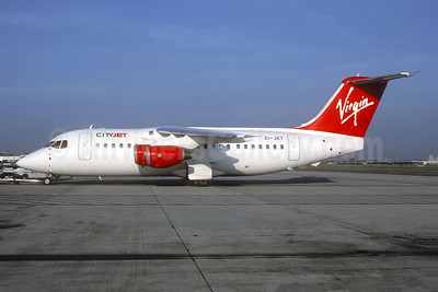 Virgin Atlantic Airways (CityJet) BAe 146-200 EI-JET (msn E2073) BRU (Christian Volpati Collection). Image: 942966.