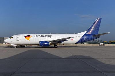 West Atlantic Cargo Airlines (UK) Boeing 737-4K5 (F) G-JMCZ (msn 24126) (MNG Airlines) BRU (Ton Jochems). Image: 954578.