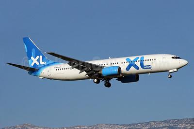 XL Airways (UK) (XL.com) Boeing 737-81Q G-XLAC (msn 29051) GVA (Eurospot). Image: 936811.