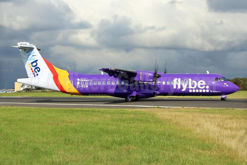 Flybe-Stobart Air ATR 72 -212A (ATR 72-500) EI-REM (msn 760) SEN (Keith Burton). Image: 928784.