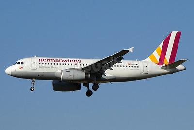 Germanwings (2nd) Airbus A319-132 D-AGWE (msn 3128) ZRH (Paul Bannwarth). Image: 932985.