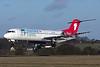 Greenland Express (Denim Air) Fokker F.28 Mk. 0100 PH-MJP (msn 11505) LTN (Paul Ferry). Image: 929166.