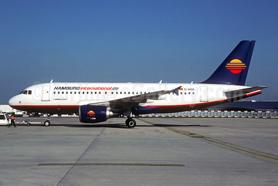 Hamburg International (Hamburginternational.de) Airbus A319-111 D-AHIH (msn 3364) CDG (Christian Volpati). Image: 934384.