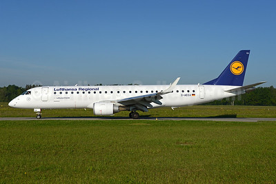 Lufthansa Regional-Lufthansa CityLine Embraer ERJ 190-100LR D-AECA (msn 19000327) ZRH (Rolf Wallner). Image: 933102.