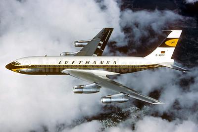 Lufthansa Boeing 720-030B D-ABOH (msn 18057) (Christian Volpati Collection). Image: 934453.