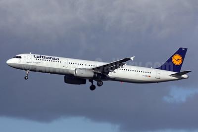 Lufthansa Airbus A321-231 D-AISU (msn 4016) LHR (SPA). Image: 933340.