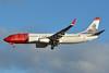 "Norwegian Air Shuttle (Norwegian.com) Boeing 737-8JP WL LN-NGL (msn 39023) (Johan Frederik ""Frits"" Thaulow) LPA (Paul Bannwarth). Image: 931225."