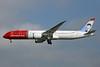 Norwegian Air Shuttle (Norwegian.com) (Norwegian Long Haul) Boeing 787-9 Dreamliner EI-LNI (msn 37307) (Greta Garbo) LGW (Keith Burton). Image: 932328.