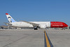 Norwegian Air Shuttle (Norwegian.com) (Norwegian Long Haul) Boeing 787-9 Dreamliner EI-LNI (msn 37307) (Greta Garbo) LAX. Image: 933814.