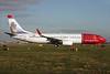Norwegian Air Shuttle (Norwegian.com) Boeing 737-8JP WL LN-NOX (msn 37818) (Christian Krohg) LGW (Antony J. Best). Image: 926308.