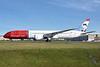Norwegian's 1st Boeing 787-9, delivered February 23, 2016