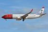 Norwegian Air Shuttle (Norwegian.com) Boeing 737-8JP WL LN-DYJ (msn 39045) (Georg Brandes) LPA (Paul Bannwarth). Image: 931222.