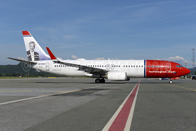 Norwegian Air Shuttle (Norwegian.com) Boeing 737-8JP WL LN-NGO (msn 39026) (Victor Borge, Danist Pianist and Humorist)  TRD (Ton Jochems). Image: 933271.