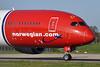 Norwegian Air Shuttle (Norwegian.com) (Norwegian Long Haul) Boeing 787-9 Dreamliner EI-LNI (msn 37307) (Greta Garbo) LGW (Robbie Shaw). Image: 932746.