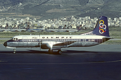 Olympic Airways (1st) NAMC YS-11A-220 SX-BBK (msn 2144) ATH (Jacques Guillem Collection). Image: 934466.