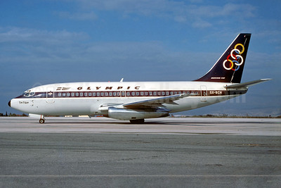 Olympic Airways (1st) Boeing 737-284 SX-BCH (msn 22339) ATH (Jacques Guillem Collection). Image: 934463.