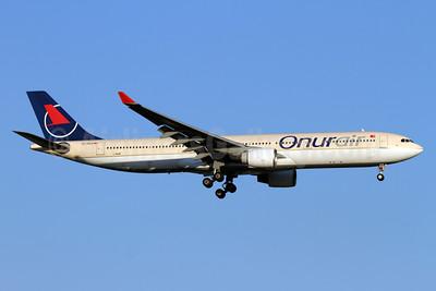 Onurair Airbus A330-322 TC-OCA (msn 072) (Saudi Arabian fuselage) AYT (Andi Hiltl). Image: 933734.