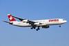 Swiss International Air Lines Airbus A340-313 HB-JMA (msn 538) PMI (Javier Rodriguez). Image: 928613.