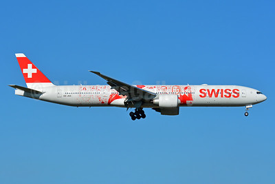 Swiss International Air Lines Boeing 777-3DE ER HB-JNA (msn 44582) (Faces of SWISS - images of employees) ZRH (Paul Bannwarth). Image: 933107.