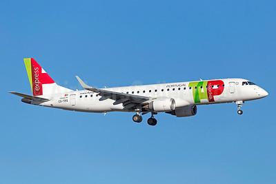 TAP Portugal Express (Portugalia Airlines) Embraer ERJ 190-100LR CS-TPQ (msn 19000450) LIS (Stefan Sjogren). Image: 933735.