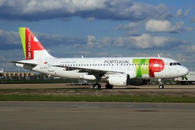 TAP Portugal Airbus A319-111 CS-TTG (msn 906) LHR. Image: 933039.