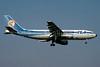TEA (Trans European Airways) (Belgium) - EgyptAir Airbus A300B4-103 OO-TEG (msn 017) (TEA colors) FRA (SM Fitzwilliams Collection). Image: 932365.