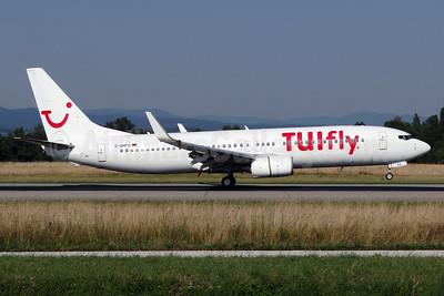 TUIfly (TUIfly.com) (Germany) Boeing 737-8K5 WL D-AHFO (msn 27987) BSL (Paul Bannwarth). Image: 934532.