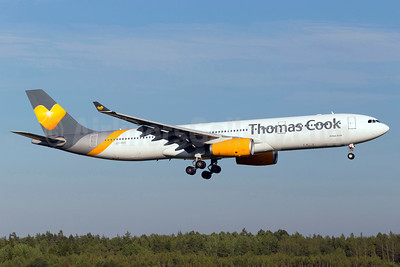 Thomas Cook Airlines Scandinavia Airbus A330-343 OY-VKG (msn 349) ARN (Stefan Sjogren). Image: 934496.
