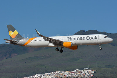 Thomas Cook Airlines Scandinavia Airbus A321-211 WL OY-TCG (msn 6389) TFS (Paul Bannwarth). Image: 933090.
