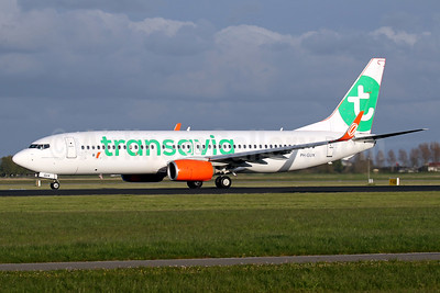 Transavia Airlines (Netherlands) Boeing 737-8EH WL PH-GUX (msn 39611) (Gol engines and winglets) AMS (Javier Rodriguez). Image: 933096.