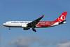 """Turkish Airlines' """"Invest in Turkey"""" logo jet"""