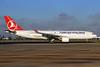 Turkish Airlines Airbus A330-223 TC-JIS (msn 961) LHR. Image: 931485.