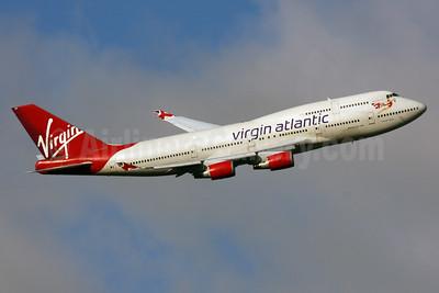 Virgin Atlantic Airways Boeing 747-4Q8 G-VHOT (msn 26326) LHR (SPA). Image: 933322.