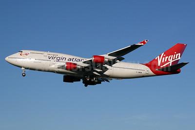 Virgin Atlantic Airways Boeing 747-41R G-VWOW (msn 32745) LHR (SPA). Image: 933321.