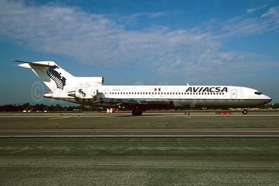 AVIACSA Boeing 727-276 WL XA-SLG (msn 21171) LAX (Roy Lock). Image: 932201.