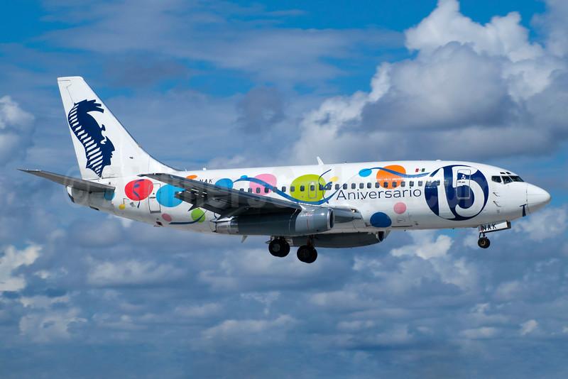 AVIACSA' special 15th Anniversary logo jet