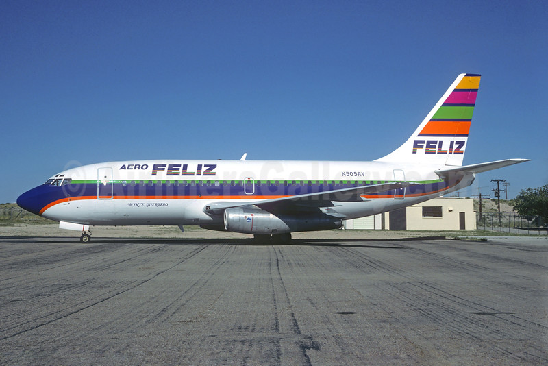 "Airline Color Scheme - Introduced 1990 ""Vicente Guerrero"""