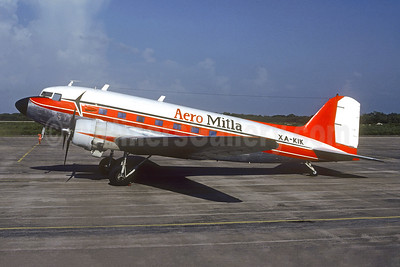 Aero Mitla Douglas C-47-DL (DC-3) XA-KIK (msn 4369) OAX (Christian Volpati Collection). Image: 950609.