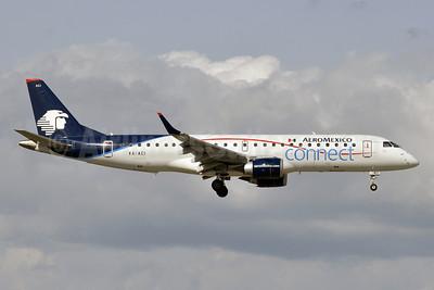 AeroMexico Connect Embraer ERJ 190-100LR XA-ACI (msn 19000525) MIA (Tony Storck). Image: 910658.