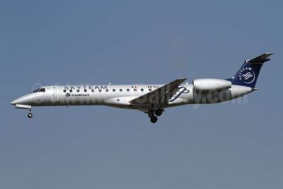 AeroMexico Connect Embraer ERJ 145LR (EMB-145LR) XA-CLI (msn 14500803) (SkyTeam) LAX (James Helbock). Image: 906495.