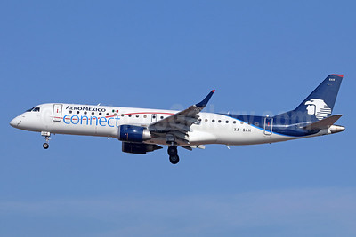AeroMexico Connect Embraer ERJ 190-100 IGW XA-GAH (msn 19000216) LAX (Michael B. Ing). Image: 940182.