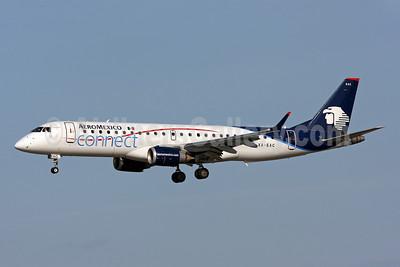 AeroMexico Connect Embraer ERJ 190-100LR XA-EAC (msn 19000145) MIA (Brian McDonough). Image: 905974.