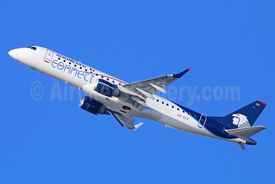 AeroMexico Connect Embraer ERJ 190-100LR XA-ACK (msn 19000538) LAX (Michael B. Ing). Image: 921372.