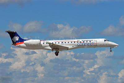 AeroMexico Connect Embraer ERJ 145LU (EMB-145LU) XA-WLI (msn 145434) MIA (Dave Campbell). Image: 903995.